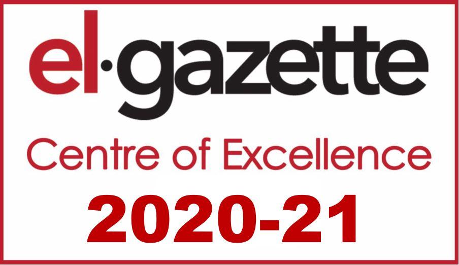 EL Gazette Centre of Excellence Logo 2020-2021