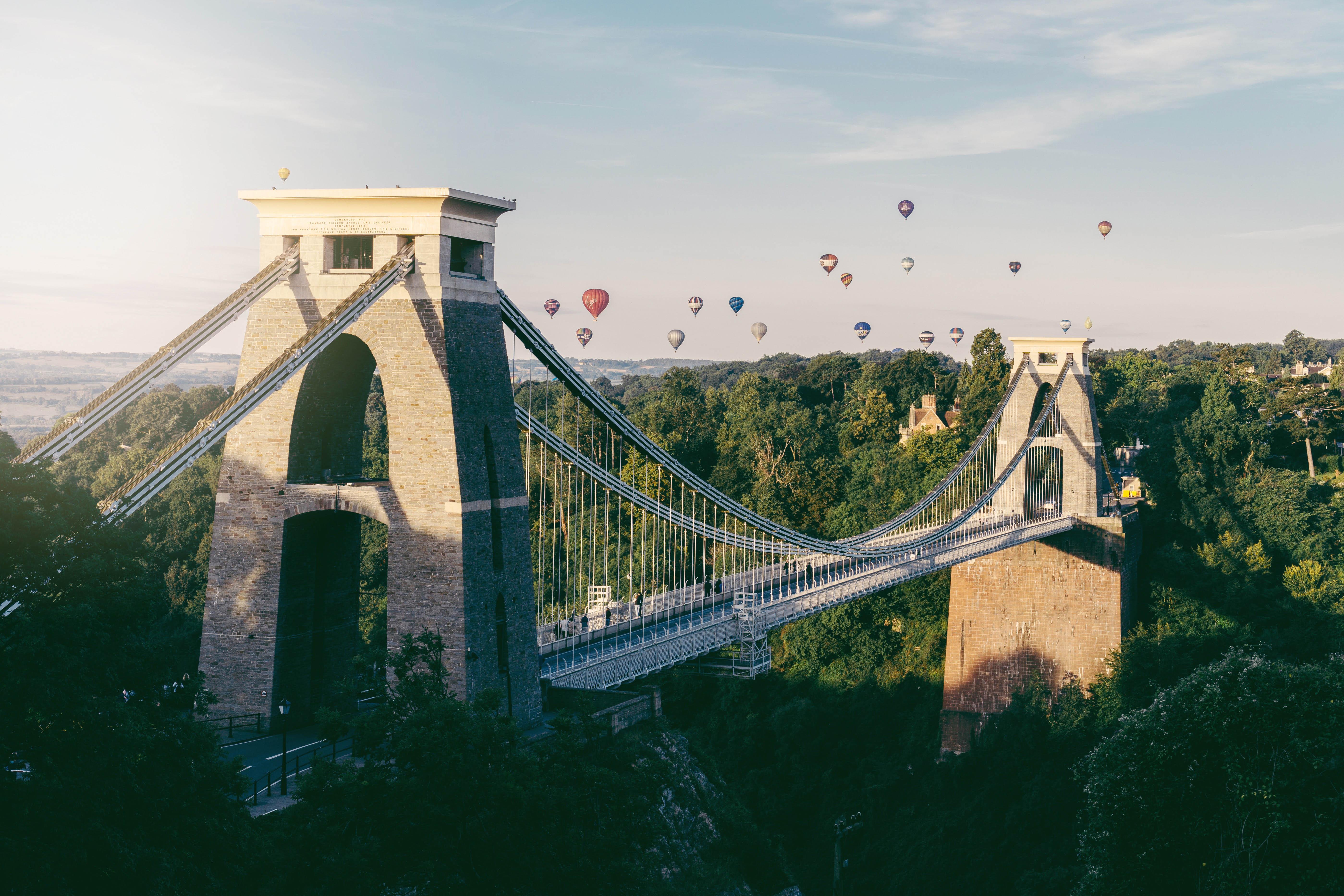 Clifton Suspension Bridge Balloons