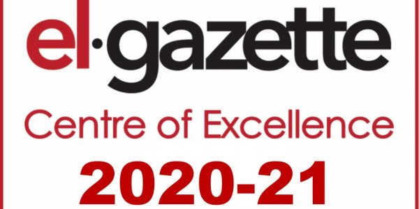 EL Gazette Centre of Excellence Logo 2020-2021